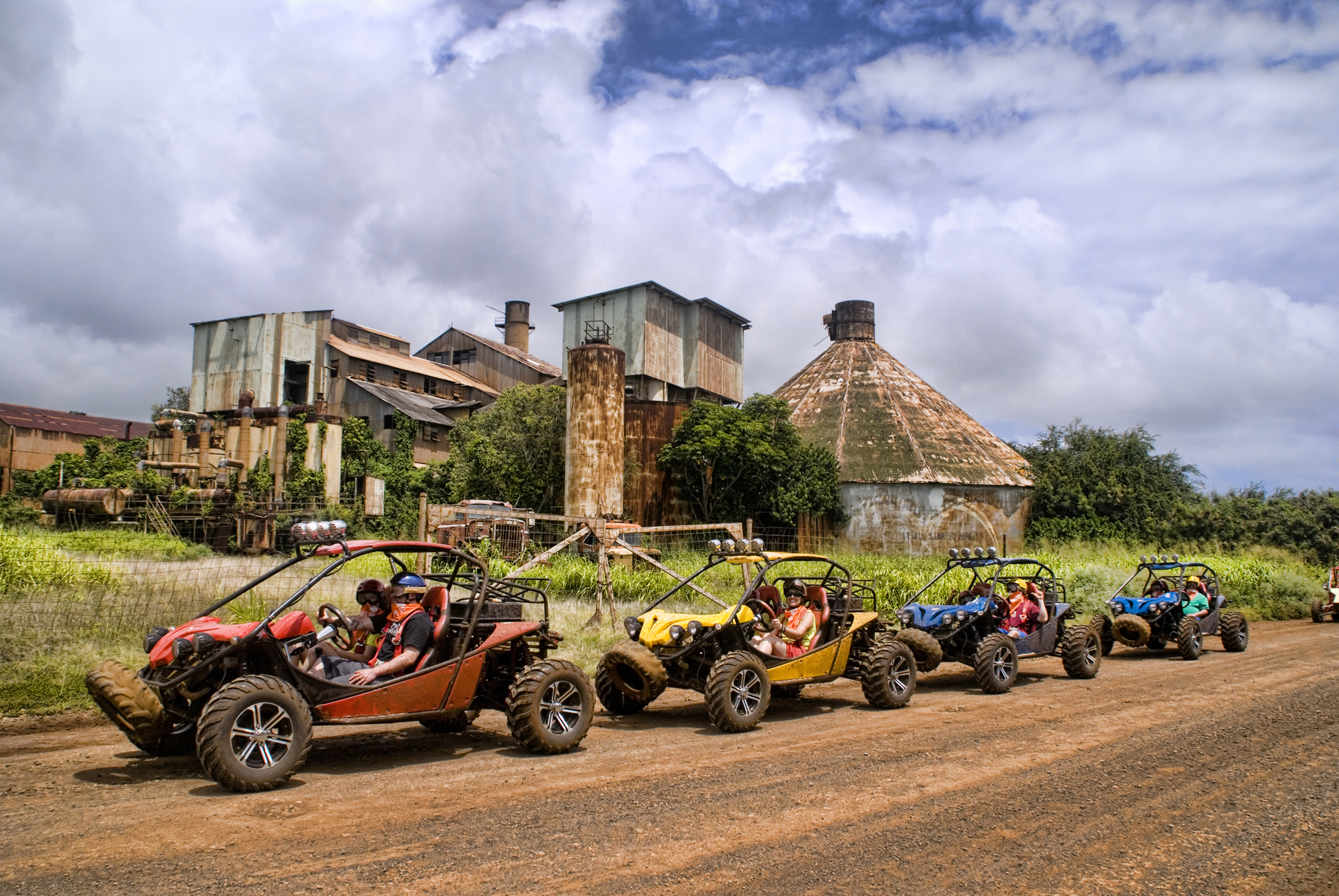A big shout out to Hawaii-based Kauai ATV Tours for forwarding this great picture!