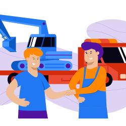heavy equipment shipping