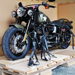 How much does it cost to crate a motorcycle? | Citizenshipper