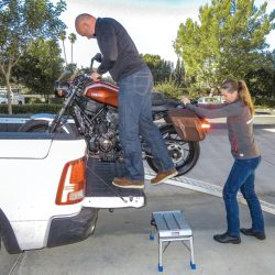 How to load a motorcycle into a Truck?: A Step-by-Step Guide