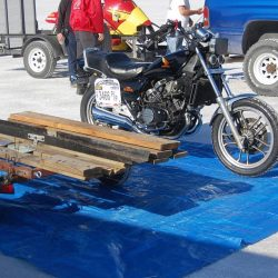 How to protect motorcycle in an open trailer? | Citizenshipper