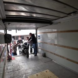 How to secure a motorcycle in a moving truck? | Citizenshipper