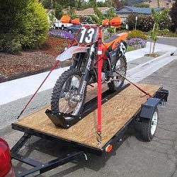 How to tie down a dirt bike? | Citizenshipper