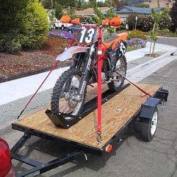 Shipping a dirt bike