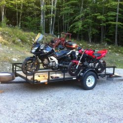 What size trailer do You need for 3 motorcycles?