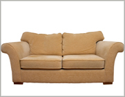 A couch is one of the most common items shipped.